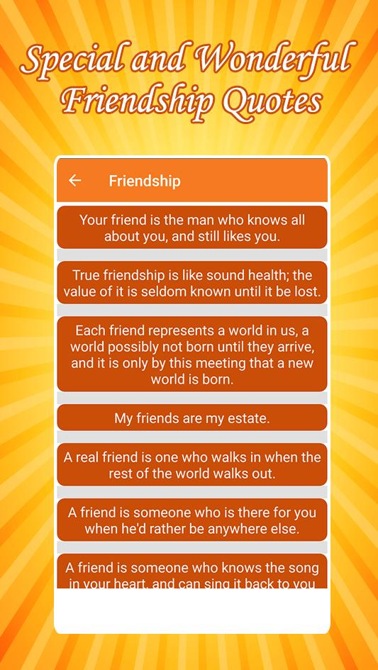 100000 Friendship Quotes And Funny Quotes For Android Apk