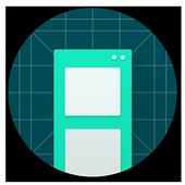 Split-screen creator icon