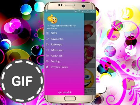 Émoticônes GIFS pour whatsapp and fb screenshot 1