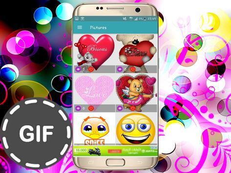 Émoticônes GIFS pour whatsapp and fb screenshot 2