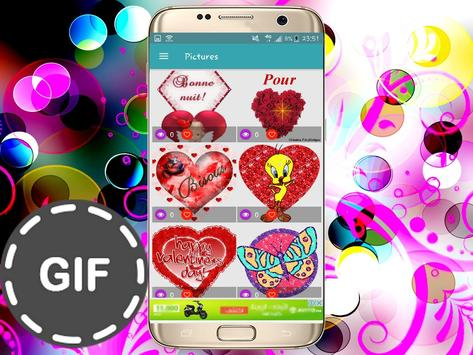 Émoticônes GIFS pour whatsapp and fb screenshot 4