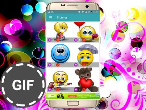 Émoticônes GIFS pour whatsapp and fb screenshot 5