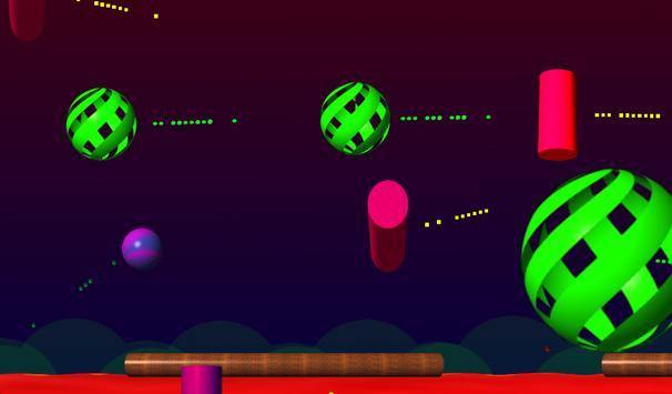 Flying Bouncing Ball Lite apk screenshot