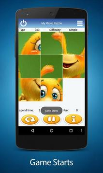 My Photo Sliding Puzzle apk screenshot