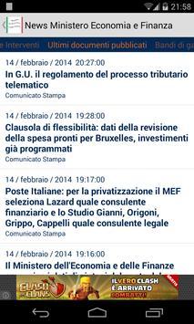 News Economia e Finanza apk screenshot