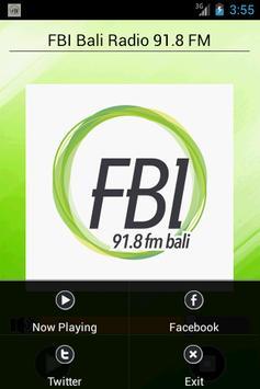 FBI Bali Radio 91.8 FM screenshot 1