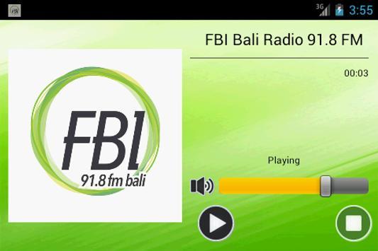 FBI Bali Radio 91.8 FM screenshot 2