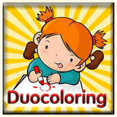 Duocoloring icon
