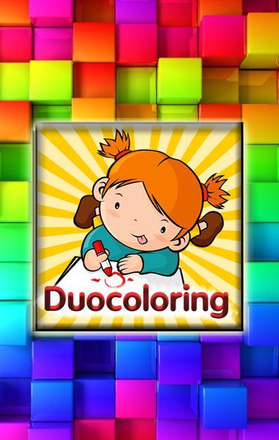 Duocoloring poster