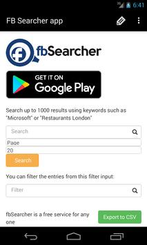 Business Searcher apk screenshot