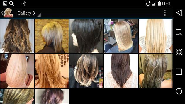 Medium Haircuts screenshot 7