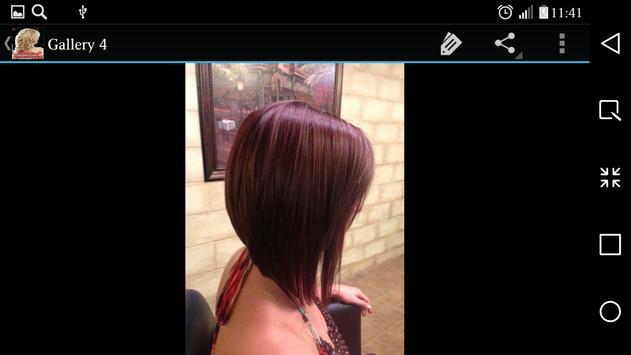 Medium Haircuts apk screenshot