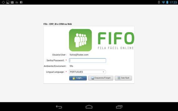 FiFO - Gestão e Operacional apk screenshot