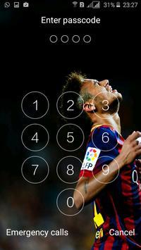 lock screen for Fcb apk screenshot