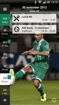 FC Groningen Fancal poster