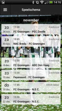 FC Groningen Fancal screenshot 2