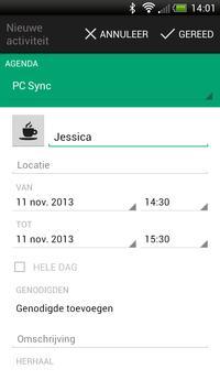 FC Groningen Fancal screenshot 3