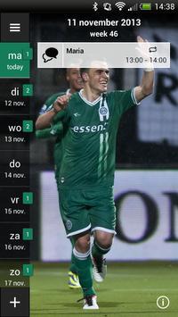 FC Groningen Fancal screenshot 4