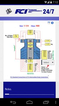 FCI Reinforcing Nozz. Selector screenshot 2