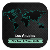 Los Angeles City Tourist Guide icon