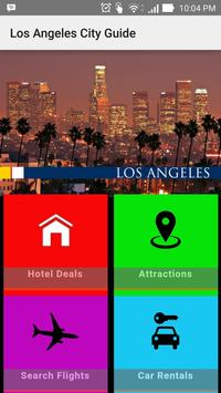 Los Angeles City Tourist Guide poster