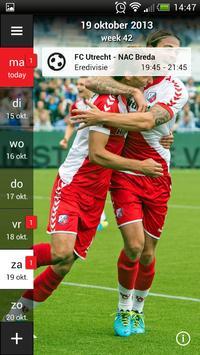 FC Utrecht Fancal screenshot 4