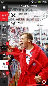 FC Utrecht Fancal poster