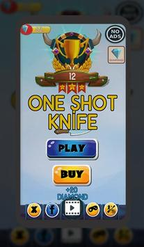One Shot Knife screenshot 1