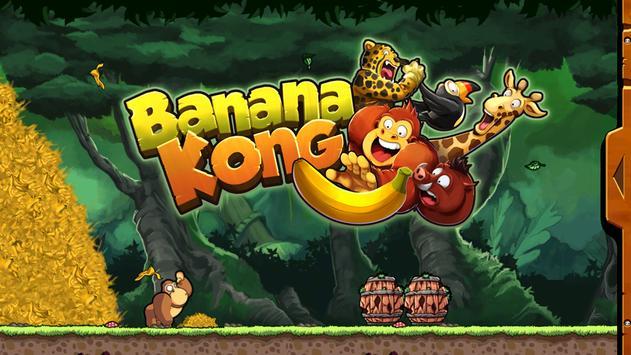 Banana Kong plakat