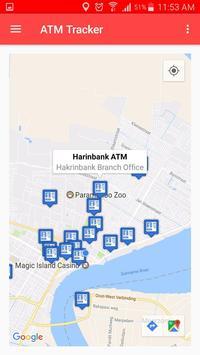 ATM Tracker App Suriname apk screenshot