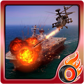 navy helicopter strike team 3D icon