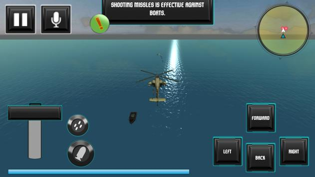 navy helicopter strike team 3D apk screenshot