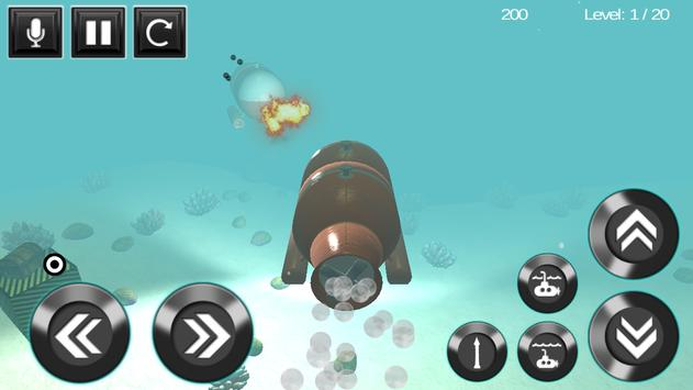 submarine torpedo war 3D apk screenshot