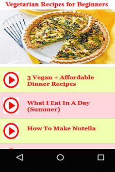 Vegetarian recipes for beginners apk download free food drink vegetarian recipes for beginners poster forumfinder Gallery