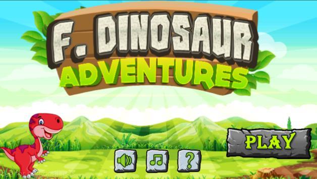 F Dinosaur Adventures poster