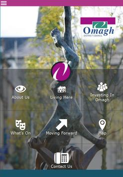 Invest in Omagh poster