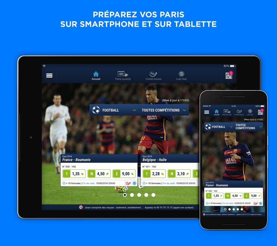 parionssport point de vente officiel apk download free sports app for android. Black Bedroom Furniture Sets. Home Design Ideas