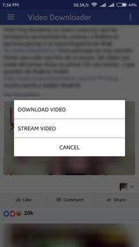 Video Downloader plus for Facebook poster