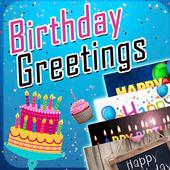 Birthday Greetings eCard Maker icon
