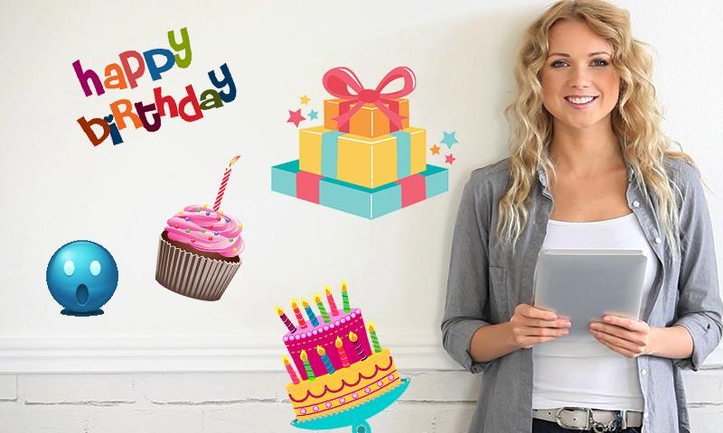 Birthday Greetings ECard Maker Screenshot 3