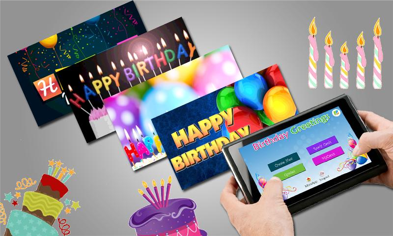 Birthday Greetings ECard Maker Screenshot 10