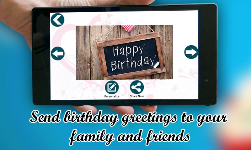 Birthday Greetings ECard Maker Screenshot 22