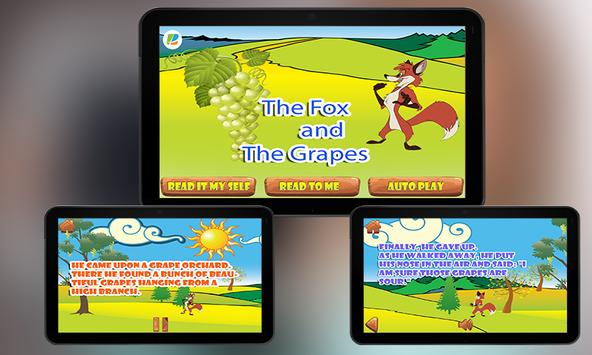 Fox and Grapes KidsStory apk screenshot