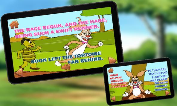 Hare and Tortoise KidsStory screenshot 21