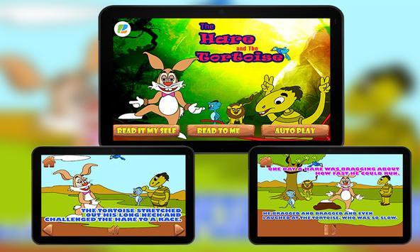 Hare and Tortoise KidsStory screenshot 2