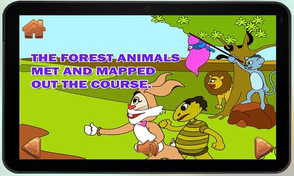 Hare and Tortoise KidsStory screenshot 5