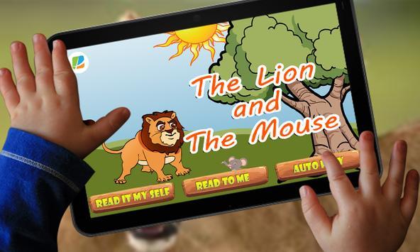 Lion and Mouse Kids Story apk screenshot
