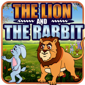 Lion and Rabbit Kids Story icon