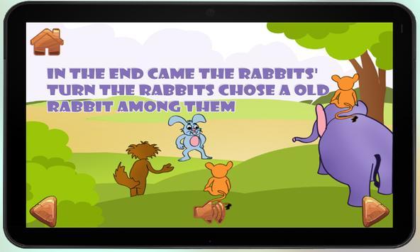 Lion and Rabbit Kids Story apk screenshot