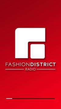 FASHION DISTRICT RADIO poster